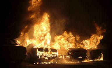 bilbrande i sverige