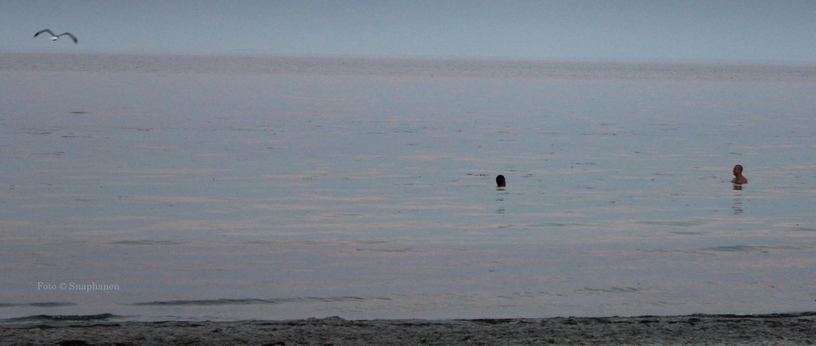 bryster på stranden nøgne kvinder bader
