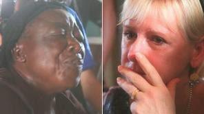 Margot Wallström gråter över våldtagna kvinnor i Kongo 2010