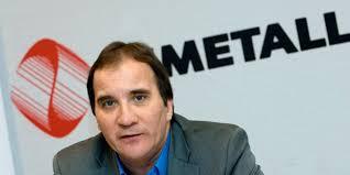 Stefan Löfven som Metallordförande
