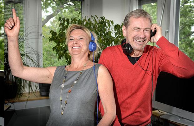 Eva Hamilton och Christer Björkman 2014
