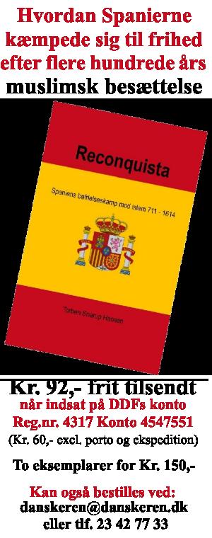 Køb bogen 'Reconquista' fra Den Danske Forening